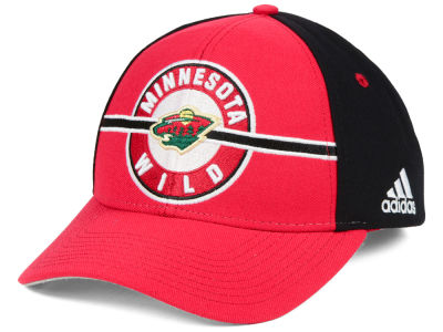Minnesota Wild adidas NHL Circle Adjustable Cap