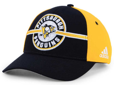 Pittsburgh Penguins adidas NHL Circle Adjustable Cap
