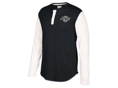 Los Angeles Kings CCM NHL Men's Long Sleeve Henley T-shirt