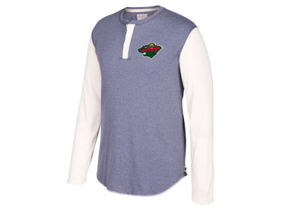 Minnesota Wild CCM NHL Men's Long Sleeve Henley T-shirt