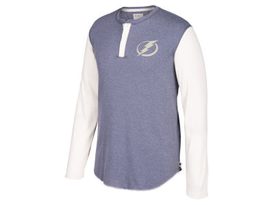 Tampa Bay Lightning CCM NHL Men's Long Sleeve Henley T-shirt
