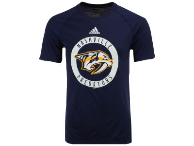 Nashville Predators adidas NHL Men's Ultimate Practice T-shirt