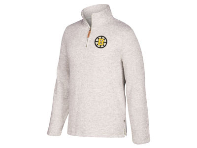 Boston Bruins CCM NHL Men's Heritage Quarter Zip Pullover