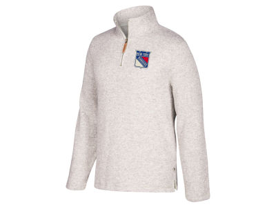 New York Rangers CCM NHL Men's Heritage Quarter Zip Pullover