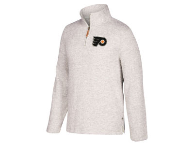 Philadelphia Flyers CCM NHL Men's Heritage Quarter Zip Pullover