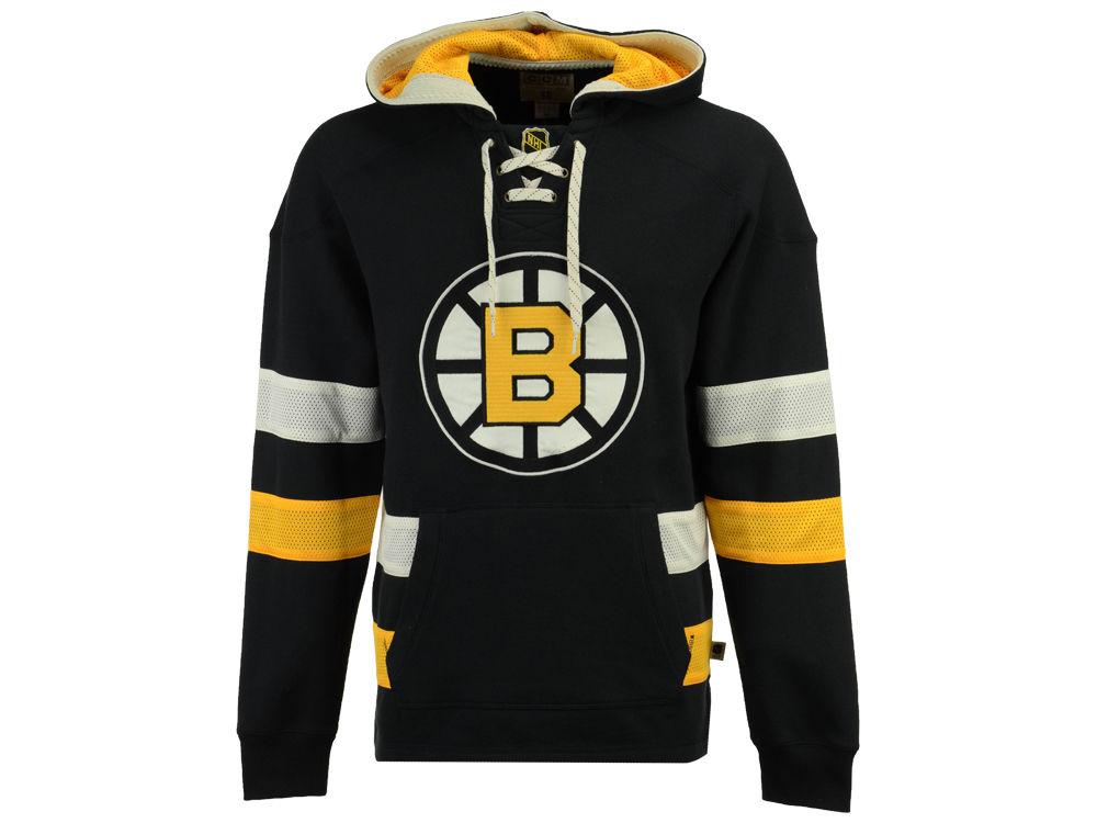Boston Bruins CCM NHL Men s Pullover Jersey Hoodie  0f02e201c