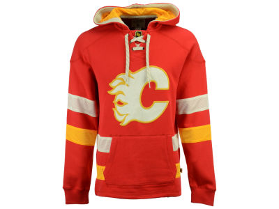 Calgary Flames CCM NHL Men's Pullover Jersey Hoodie
