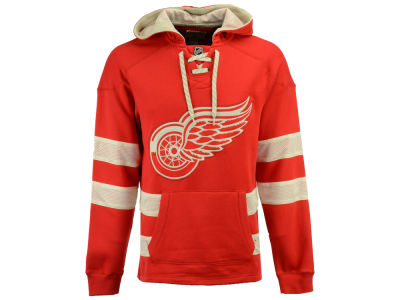 Detroit Red Wings CCM NHL Men's Pullover Jersey Hoodie