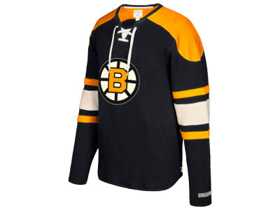 Boston Bruins CCM NHL Men's Laces Crew