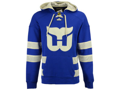 Hartford Whalers CCM NHL Men's Pullover Jersey Hoodie