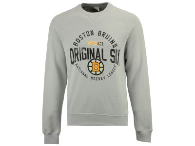 Boston Bruins CCM NHL Men's Original 6 Classic Crew Sweatshirt