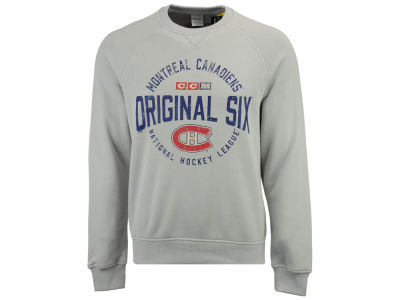 Montreal Canadiens CCM NHL Men's Original 6 Classic Crew Sweatshirt