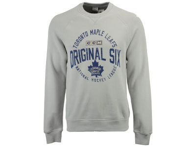 Toronto Maple Leafs CCM NHL Men's Original 6 Classic Crew Sweatshirt