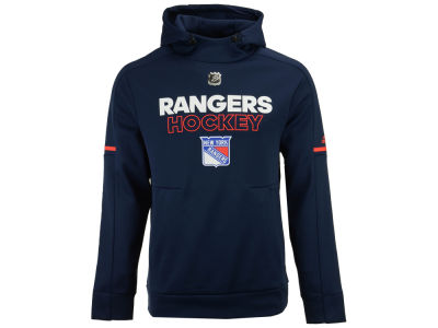New York Rangers adidas NHL Men's Authentic Pro Hoodie