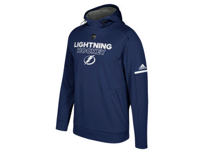 Tampa Bay Lightning adidas NHL Men's Authentic Pro Hoodie