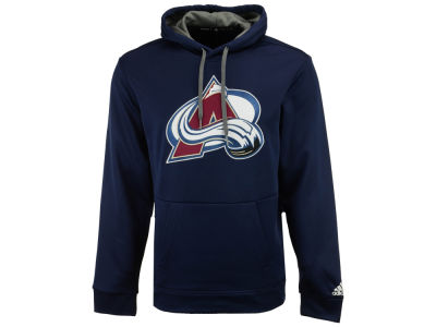 Colorado Avalanche adidas NHL Men's Primary Pullover Social Hoodie