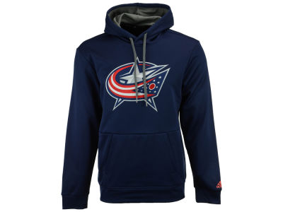 Columbus Blue Jackets adidas NHL Men's Primary Pullover Social Hoodie