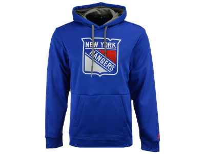 New York Rangers adidas NHL Men's Primary Pullover Social Hoodie
