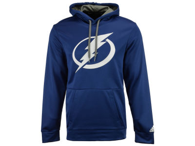 Tampa Bay Lightning adidas NHL Men's Primary Pullover Social Hoodie