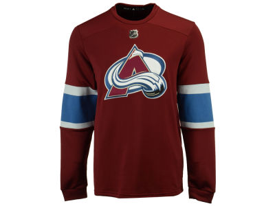 Colorado Avalanche adidas NHL Men's Platinum Long Sleeve Jersey T-shirt