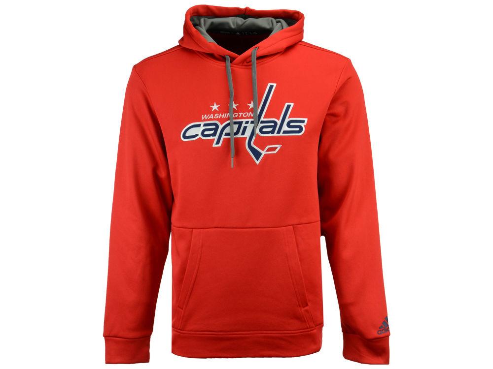 Washington Capitals adidas NHL Men s Primary Pullover Social Hoodie ... 88e4d9f6e
