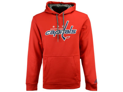 Washington Capitals adidas NHL Men's Primary Pullover Social Hoodie
