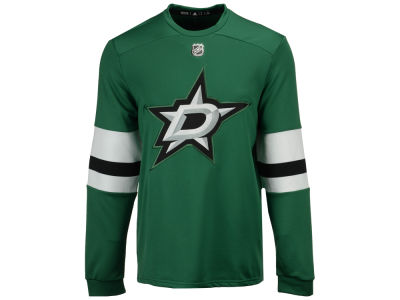 Dallas Stars adidas NHL Men's Platinum Long Sleeve Jersey T-shirt