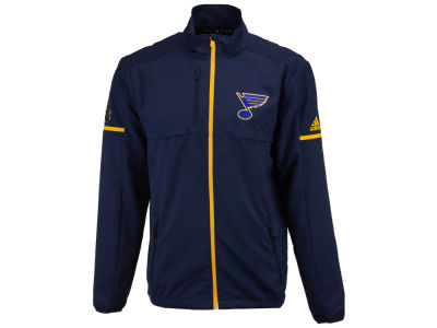 St. Louis Blues adidas NHL Men's Authentic Rink Jacket