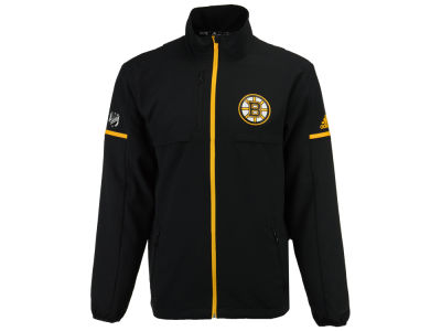 Boston Bruins adidas NHL Men's Authentic Rink Jacket