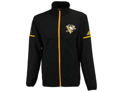 Pittsburgh Penguins adidas NHL Men's Authentic Rink Jacket