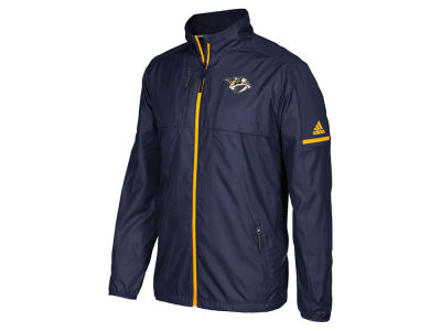 Nashville Predators adidas NHL Men's Authentic Rink Jacket