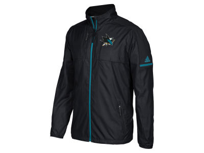 San Jose Sharks adidas NHL Men's Authentic Rink Jacket