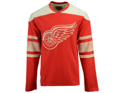 Detroit Red Wings CCM NHL Men's Crew Long Sleeve T-shirt