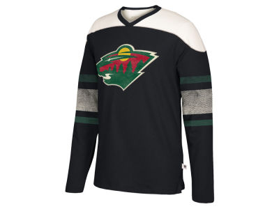 Minnesota Wild CCM NHL Men's Crew Long Sleeve T-shirt