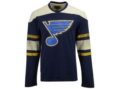 St. Louis Blues CCM NHL Men's Crew Long Sleeve T-shirt