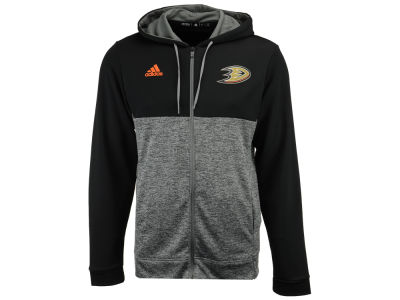 Anaheim Ducks adidas NHL Men's Two Tone Full Zip Hoodie
