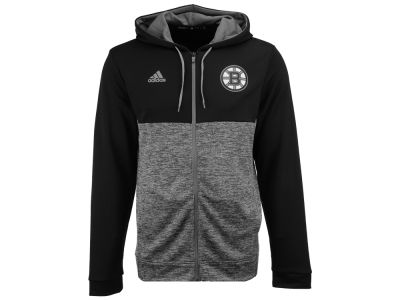 Boston Bruins adidas NHL Men's Two Tone Full Zip Hoodie