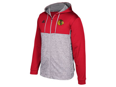 Chicago Blackhawks adidas NHL Men's Two Tone Full Zip Hoodie