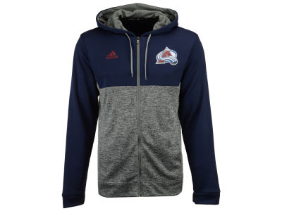 Colorado Avalanche adidas NHL Men's Two Tone Full Zip Hoodie