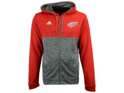 Detroit Red Wings adidas NHL Men's Two Tone Full Zip Hoodie