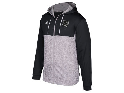 Los Angeles Kings adidas NHL Men's Two Tone Full Zip Hoodie
