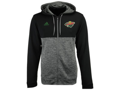 Minnesota Wild adidas NHL Men's Two Tone Full Zip Hoodie