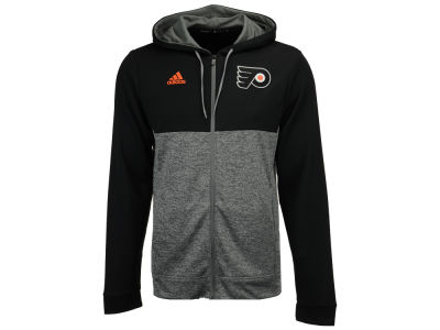 Philadelphia Flyers adidas NHL Men's Two Tone Full Zip Hoodie