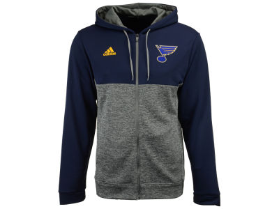 St. Louis Blues adidas NHL Men's Two Tone Full Zip Hoodie