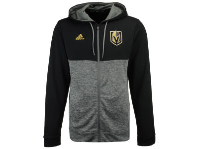 Vegas Golden Knights adidas NHL Men's Two Tone Full Zip Hoodie