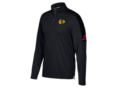 Chicago Blackhawks adidas NHL Men's Authentic Pro Quarter Zip Pullover