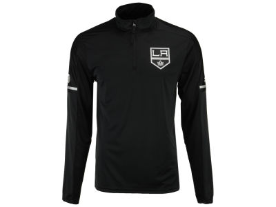 Los Angeles Kings adidas NHL Men's Authentic Pro Quarter Zip Pullover