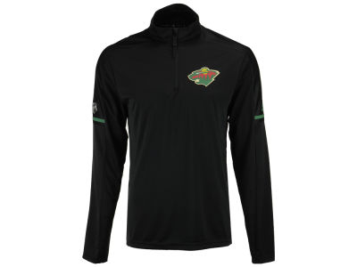 Minnesota Wild adidas NHL Men's Authentic Pro Quarter Zip Pullover