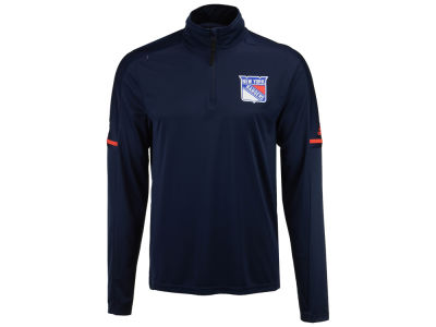 New York Rangers adidas NHL Men's Authentic Pro Quarter Zip Pullover