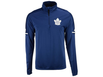 Toronto Maple Leafs adidas NHL Men's Authentic Pro Quarter Zip Pullover